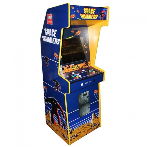 "Space Invaders Cabinet Arcade Two Players 19"" LCD"
