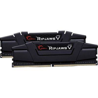 G.Skill RipJaws V Series, DDR4-3200, CL16, Black - 16 GB Kit - 1