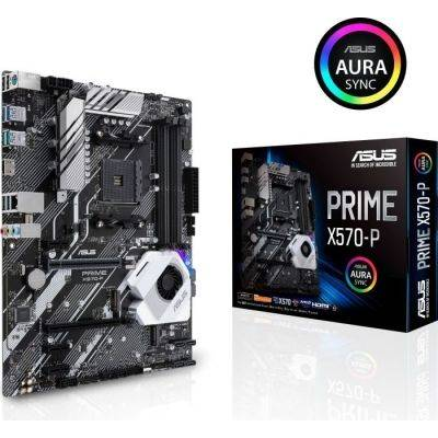 ASUS Prime X570-P, AMD X570 Mainboard - Socket AM4 - 1