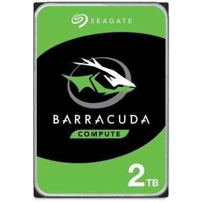 """Seagate BarraCuda Compute HDD, SATA 6G, 7200 RPM, 3,5"""" - 2 TB - 1"""