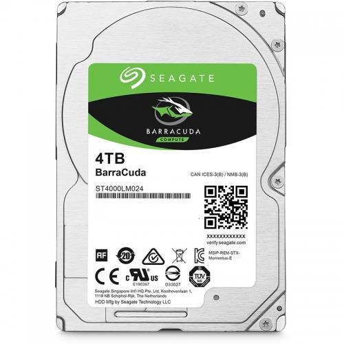 """Seagate BarraCuda HDD, SATA 6G, 5400 RPM, 2,5"""" - 4 TB - 1"""