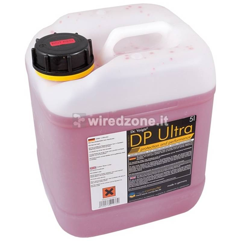 aqua computer Double Protect Ultra Ultra 5L Canister - Red - 1