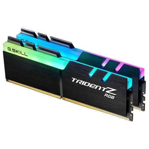 G.Skill Trident Z RGB Series, DDR4-2400, CL 15 - 16 GB Dual-Kit - 1
