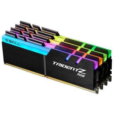 G.Skill Trident Z RGB Series, DDR4-3200, CL 16 - 32 GB Quad-Kit - 1