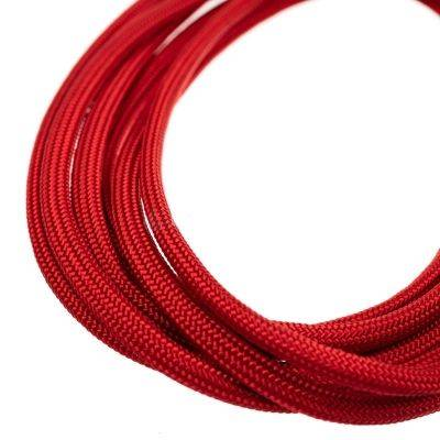 CeeSA Mouse Cable Paracord Universal, Red - 2,2mt - 1