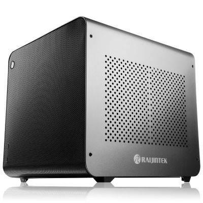 Raijintek METIS EVO AL Mini-ITX Case - Silver - 1