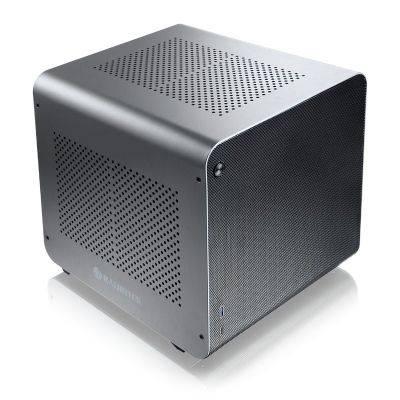 Raijintek METIS EVO AL Mini-ITX Case - Silver - 2