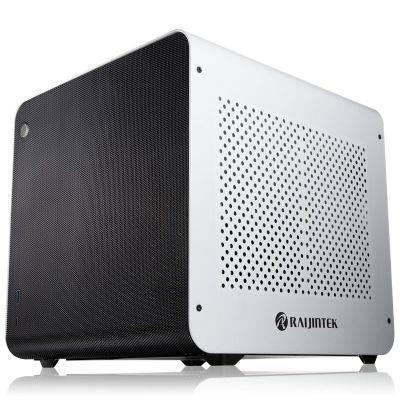 Raijintek METIS EVO AL Mini-ITX Case - White - 1