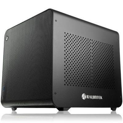 Raijintek METIS EVO AL Mini-ITX Case - Black - 1