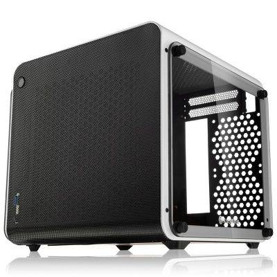 Raijintek METIS EVO TG Mini-ITX Case, Tempered Glass - White - 1