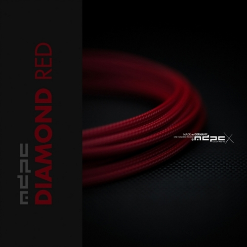 MDPC-X Sleeve Small - Diamond-Red, 1m - 1