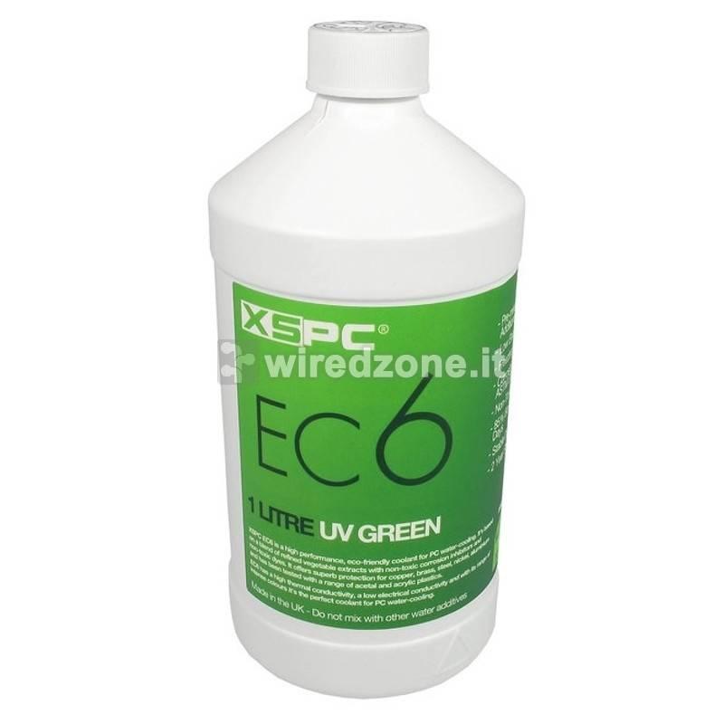 XSPC EC6 Coolant, 1 L - UV Green - 1