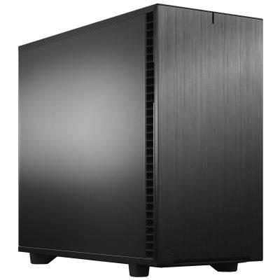 Fractal Design Define 7 Black Mid-Tower - Insulated, Black - 1