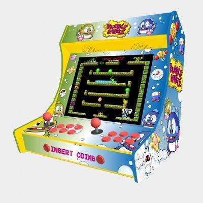 "Bubble Bobble Bartop Weecade Cabinet Arcade Two Players 19"" LCD - 1"