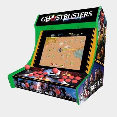 "Ghostbusters Bartop Weecade Cabinet Arcade Two Players 19"" LCD - 1"