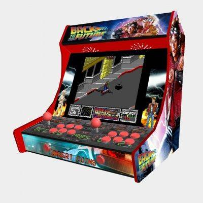 "Back To The Future Bartop Weecade Cabinet Arcade Two Players 19"" LCD - 1"