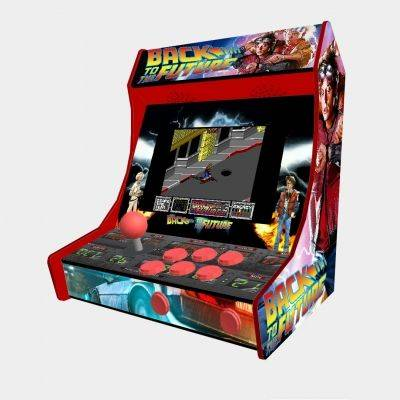 "Back To The Future Bartop Minicade Cabinet Arcade One Players 10"" LCD - 1"