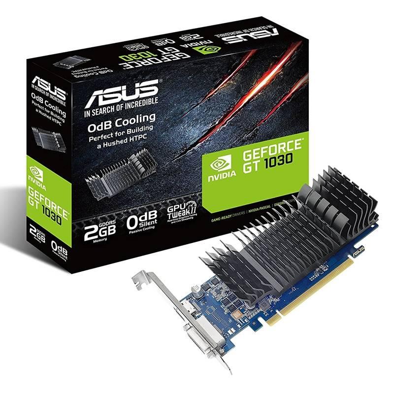ASUS GeForce GT 1030, 2048 MB GDDR5, Low Profile - 1