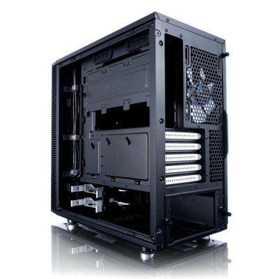 Fractal Design Define Mini C Micro-ATX-Case - Black