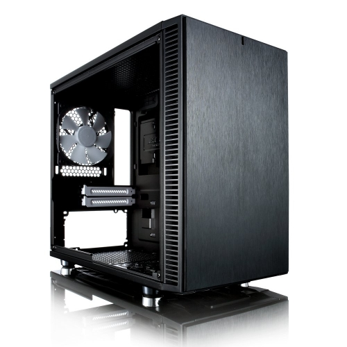 Fractal Design Define Nano S Mini ITX Case - Black - 1