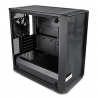 Fractal Design Meshify C Mini Dark TG Micro ATX Case, Window - Black - 8