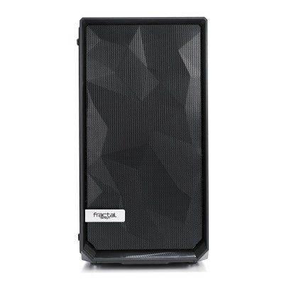 Fractal Design Meshify C Mini Dark TG Micro-ATXCase, Glass - Black