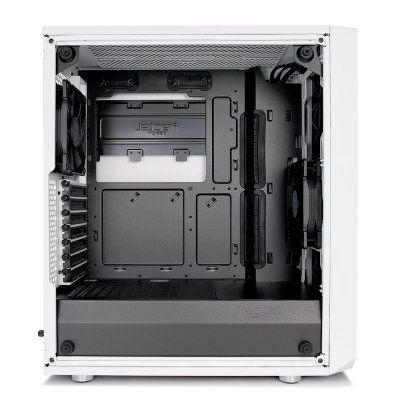 Fractal Design Meshify C White Tempered Glass Midi-Tower - White