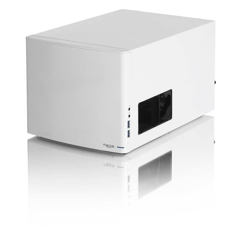 Fractal Design Node 304 Mini-ITX Case - White - 1