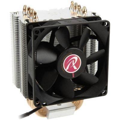 Raijintek Aidos Black, Heatpipe CPU-Cooler, PWM - 92mm - 1