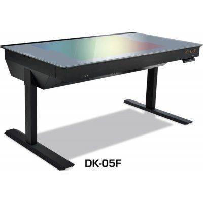 Lian Li DK-05F Desktop Case (Height Adjustable) - Black - 1