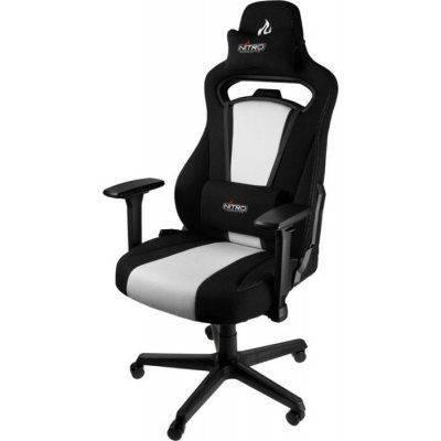 Nitro Concepts E250 Gaming Chair - Radiant White - 1