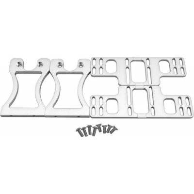 Singularity Computers Protium Vertical Bracket For Pumps And AGBs - Silver - 1