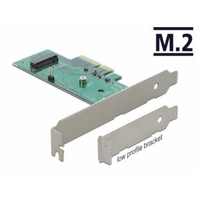 Delock PCIe 3.0 x4 Adapter Card On M.2 SSD - 1
