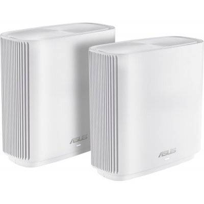 ASUS ZenWiFi AC CT8 AC3000 Tri-Band Mesh System, 2x Pack - White - 1