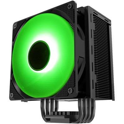 Jonsbo CR-201 CPU Cooler, RGB - 120mm, Black - 1