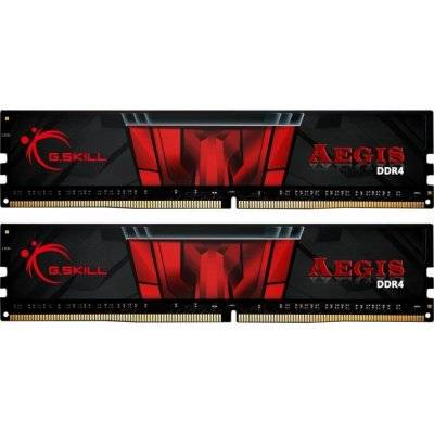 G.Skill Aegis Series, DDR4-3200, CL16 - 16 GB Dual-Kit, Black - 1