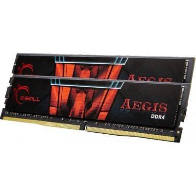 G.Skill AEGIS Series Red, DDR4-3000, CL16 - 16 GB Dual-Kit - 1