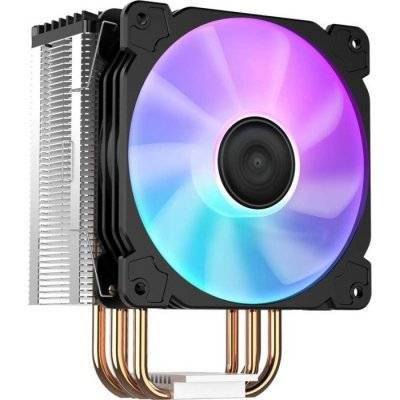 Jonsbo CR-1000 CPU Cooler, RGB - 120mm, Black - 1
