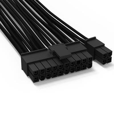 be quiet! CB-6620 24-Pin-ATX Cable For Modular Power Supply - Black - 1