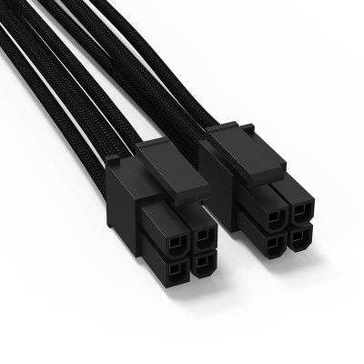 be quiet! CC-4420 4+4-ATX/EPS Cable For Modular Power Supply - Black - 1
