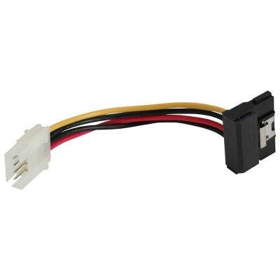 InLine SATA Adapter Power Cable To 4-Pin Floppy Angled - 6cm - 1
