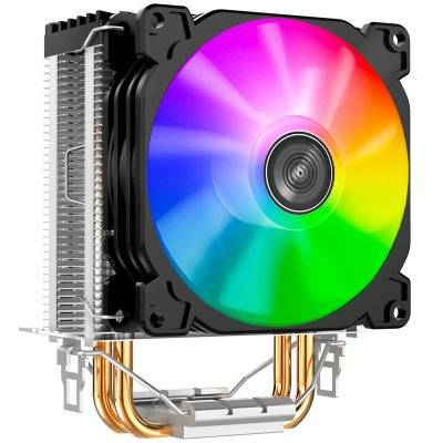 Jonsbo CR-1200 CPU Cooler, ARGB - 92mm, Black - 1