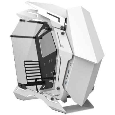 Jonsbo MOD3 Full-Tower Showcase, Tempered Glass - White - 1