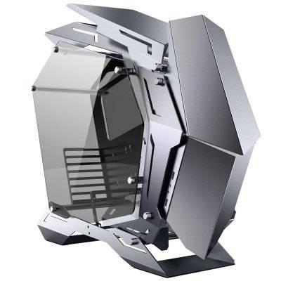Jonsbo MOD3 Full-Tower Showcase, Tempered Glass - Grey - 1