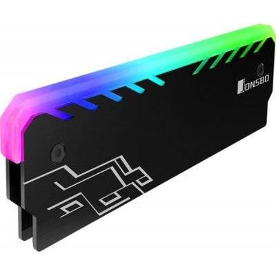 Jonsbo NC-1 RGB RAM Cooler - Black - 1