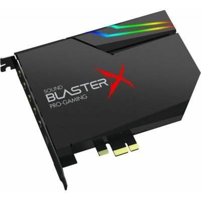 Creative Sound BlasterX AE-5 Plus Hi-Res Gaming Sound Card / DAC - RGB, PCIe - 1
