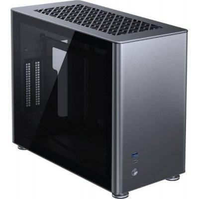 Jonsbo A4 Mini-ITX Case, Tempered Glass - Grey - 1