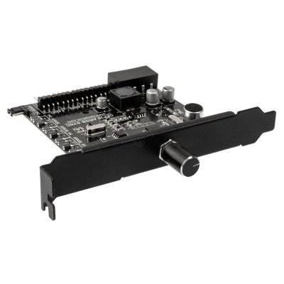 Lamptron CFP30B Sync Edition PCI ARGB Fan + LED Controller - Black - 1
