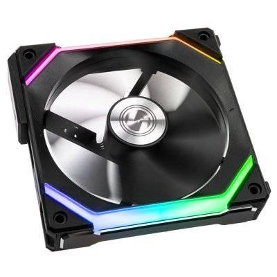 Lian Li UNI FAN SL120 RGB PWM Fan, Black - 120 mm - 1