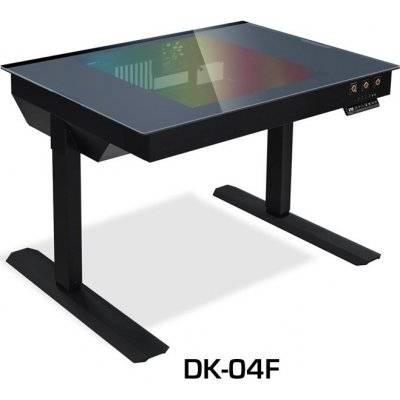 Lian Li DK-04F Desktop Case (Height Adjustable) - Black - 1